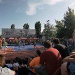 Un panou, două echipe, trei prieteni, start! Începe Sport Arena Streetball Tour 2017