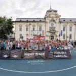 Campionii din 2017, Dzakovi 3×3, se impun la Superbet Caracal Streetball. CSO Voluntari, succes la prima participare la feminin