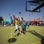 Cel mai mare turneu de baschet 3×3 al anului se joacă în weekend în Băneasa Shopping City