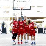 Cea mai bună marcatoare străină din istoria LNB conduce atacul Serbiei contra României, în Grupa C la FIBA 3×3 Europe Cup