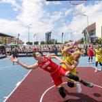 România luptă la Constanța pentru calificarea la Europenele de baschet 3×3! Super-eveniment în aer liber cu dunkuri acrobatice, momente de dans și concursuri pentru spectatori!