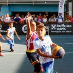 Baschetul 3×3 în linie dreaptă către calificarea la Jocurile Olimpice: Raiffeisen Bank Mega Mall Streetball, ultimul mare eveniment din București în această toamnă